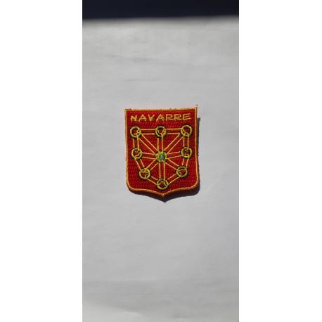 Insigne Navarre sans velcro