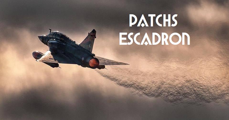 Patchs escadron